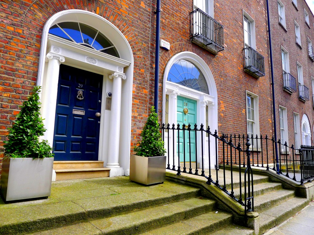 Merrion Square. Dublin, Ireland