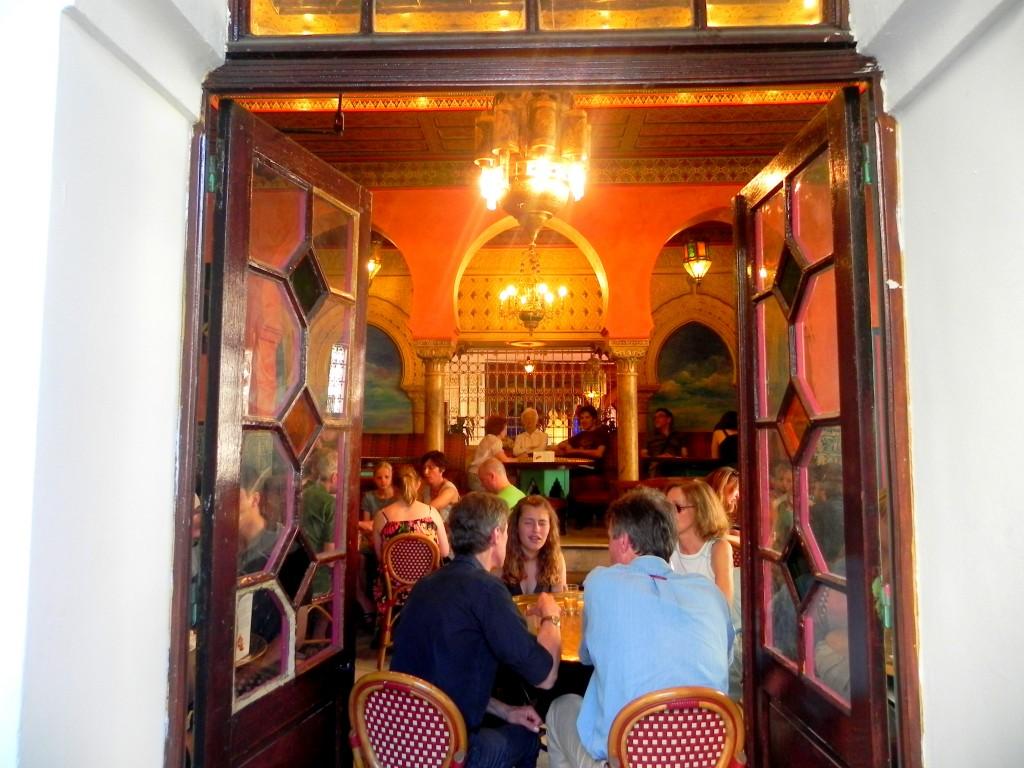 Moroccan Restaurant. Paris, France