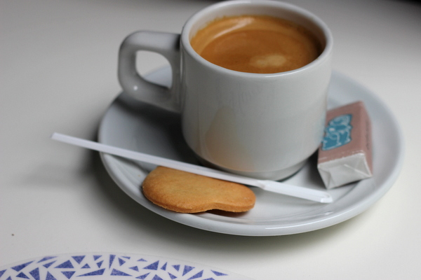 Espresso and a cookie