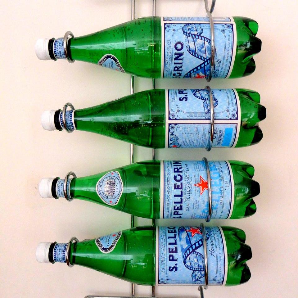 Pellegrino water bottles