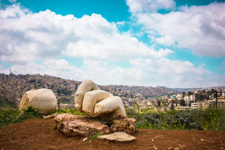 Amman_Citadel_hand
