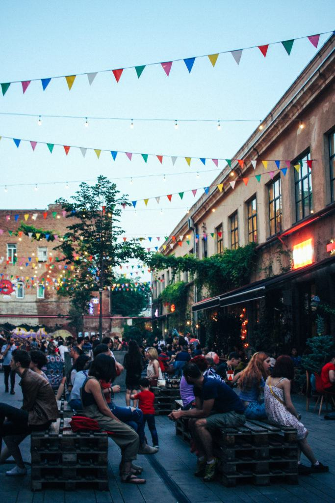 Fabrika, a great place to experience nightlife in Tbilisi