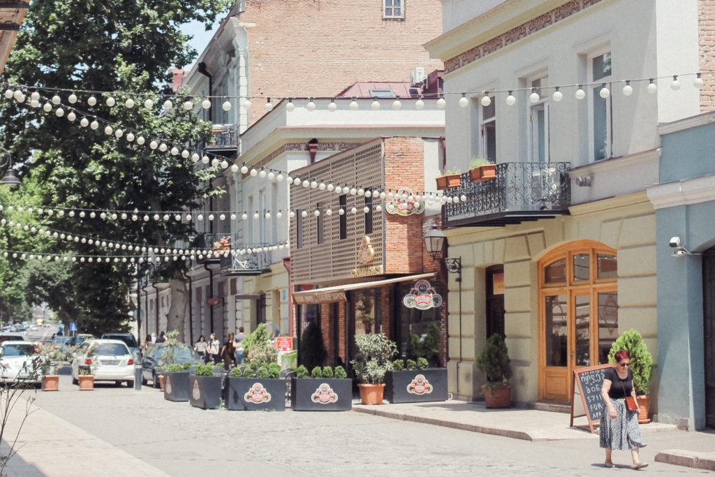 Walking the Old Town - one of the best things to do in Tbilisi