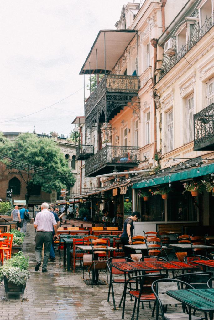 Things to do in Tbilisi - explore the beautiful Old Town