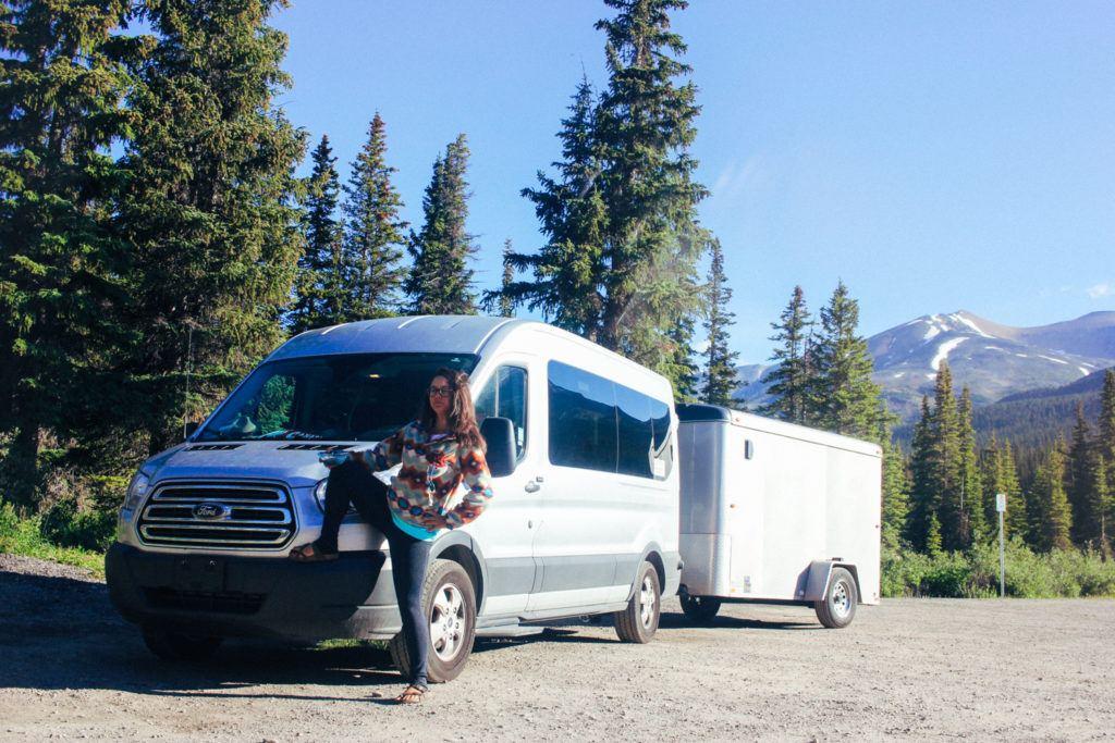12-passenger van in Canada