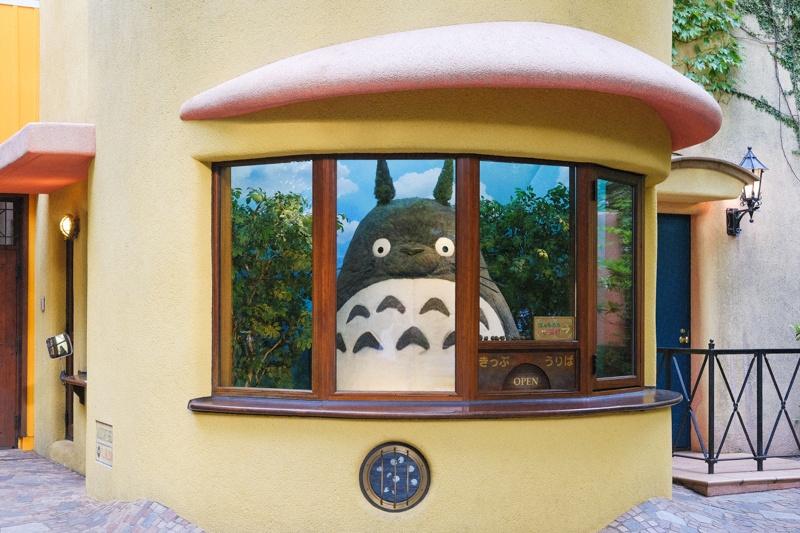 Totoro at the Ghibli Museum