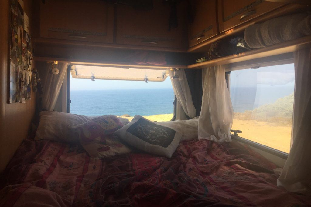 Living in a campervan in Europe pros and cons