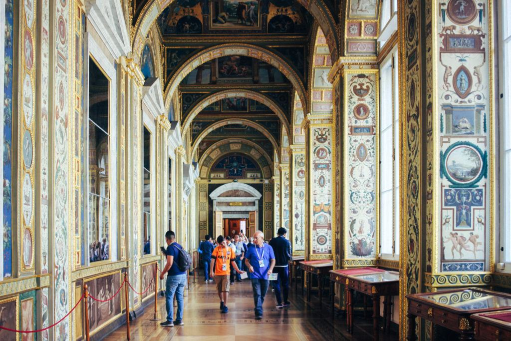 The Hermitage in St. Petersburg Russia