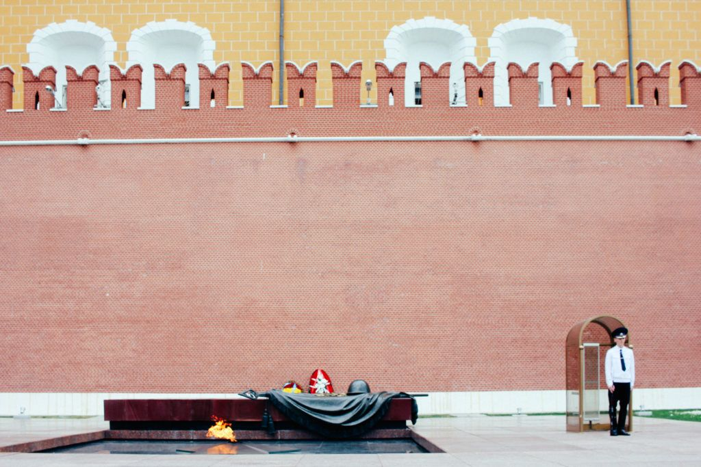 Tomb of Unknown Soldier Russia